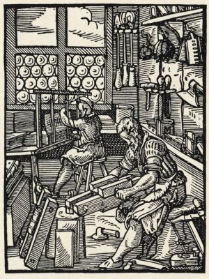 Bookbinding in the 15th century